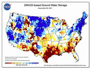 Texas Drought Visible in New National Groundwater Maps | NASA