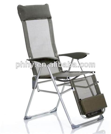 ajustable aluminum lounge folding chair with footrest sun lounger buy lounge chair with