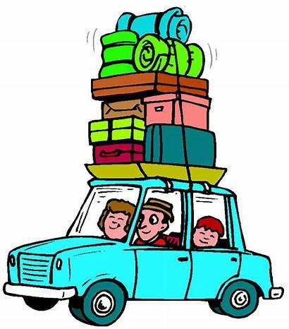 Clipart Vacation Summer Summertime Clip Travel Trip