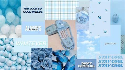 baby blue aesthetic mac wallpaper in 2021 baby blue