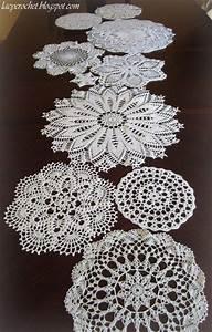 De 25  Bedste Id U00e9er Til Crochet Table Runner P U00e5 Pinterest
