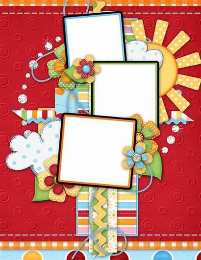 Scrapbook Scrapbooking Digital Background Layouts Borders Frames