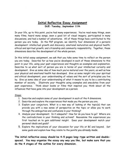 amazing reflective essay thatsnotus