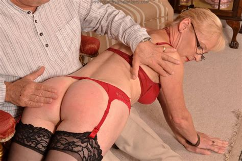 Mature MILF Mary Spanked and Paddled in Stockings - PornHugo.Com