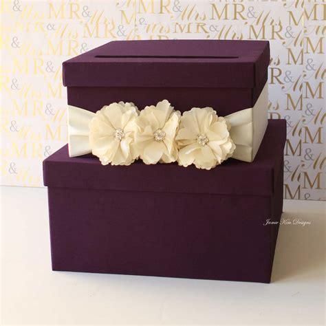 wedding card box purple tiered wedding card box 13 gorgeous wedding card