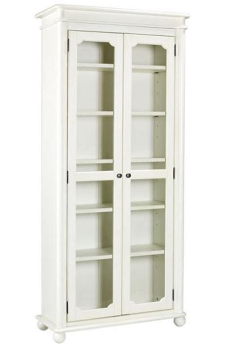 White Bookcases With Glass Doors by White Bookcases Hometone