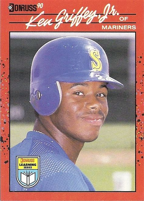 We did not find results for: The Junior Junkie: the Baseball Cards of Ken Griffey, Jr. and Beyond: 1990 Donruss #365, Diamond ...