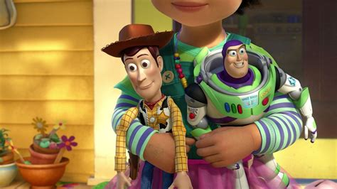toy story movies    woody growing