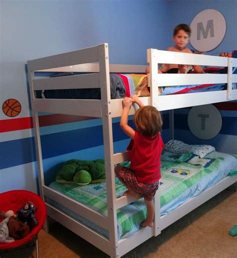 Mydal Bunk Bed by Pin By Erika Jemison Barnes On Decor