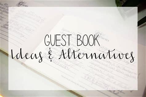 Wedding Guest Book Ideas & Alternatives