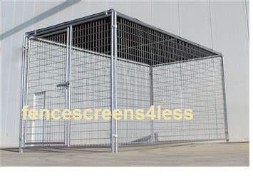 sunblock tops fence screendog kennel shade covers