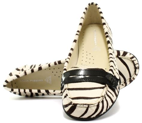 Hush Puppies Ceil Moccasins by Hush Puppies Zebra Print Ceil Penny Womens Loafer Shoes