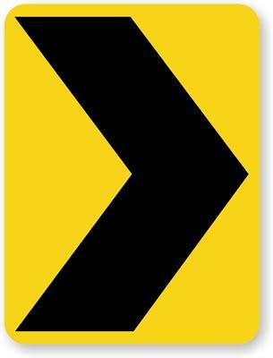 chevron road signs  road safe