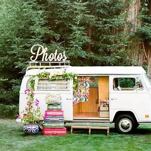 Idee Deco Pour Mariage : photobooth 20 photobooth styl s elle ~ Teatrodelosmanantiales.com Idées de Décoration