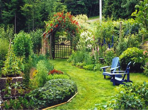 Images Of Backyard Gardens, Beautiful Summer Gardens Most