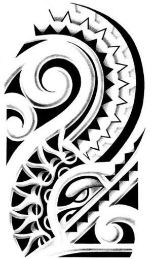 Polynesian Tattoo Designs - by marjorie | Maori tattoo | Tribal tattoos, Polynesian tattoo