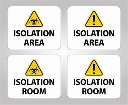 Isolation Area Biohazard Clipart Non