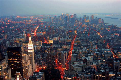 Overlooking Downtown Manhattan From The