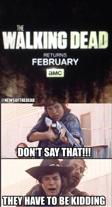 Walking Dead Memes Season 4 - 544 best the walking dead funny images on pinterest walking dead stuff ha ha and dead memes
