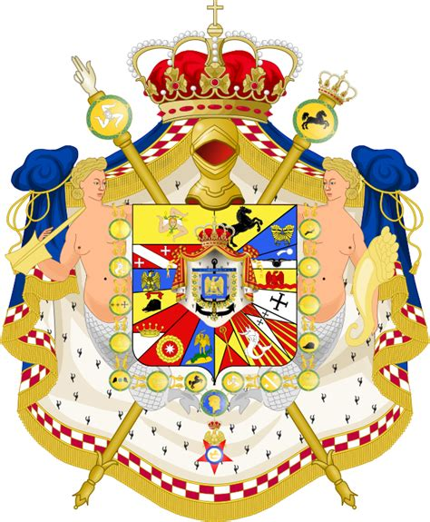 Consolato Romania Napoli by File Great Coat Of Arms Of Joachim Murat As King Of Naples