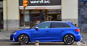 Audi Rs3 Sportback 2017 : audi rs3 sportback 8v 4 february 2017 autogespot ~ Medecine-chirurgie-esthetiques.com Avis de Voitures