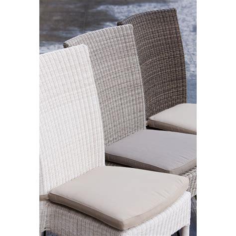 coussin de chaises coussin chaise en résine isabelle coloris gris