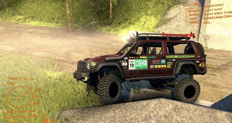 jeep cherokee off road tires jeep cherokee se xj spin tires mod download