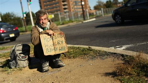 number  homeless people  washington dc rises