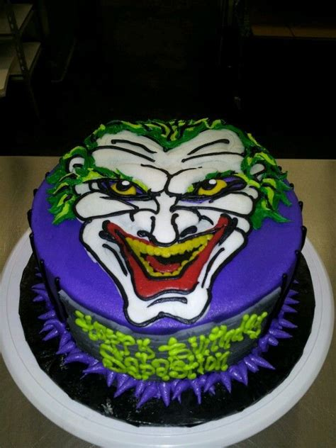 cool joker themed cakes joker cake ideas