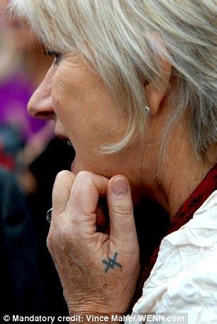 Helen Mirren Tattoo