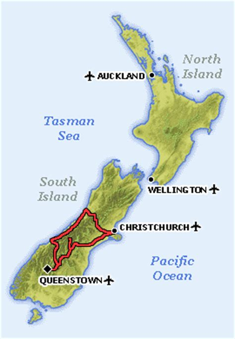 driving route queenstown christchurch queenstown queenstown driving directions queenstown