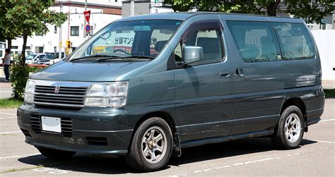 Nissan Elgrand Image by File Nissan Elgrand E50 003 Jpg Wikimedia Commons