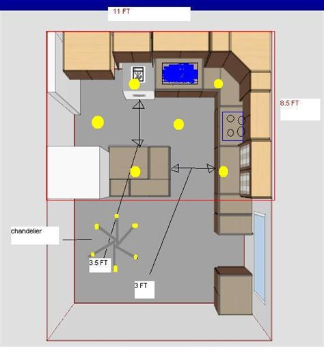 how far should recessed lights be from cabinets kitchen recess lights lay out