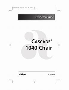 1040 Cascade Owners Manual Rev H March 2006 Pdf Download