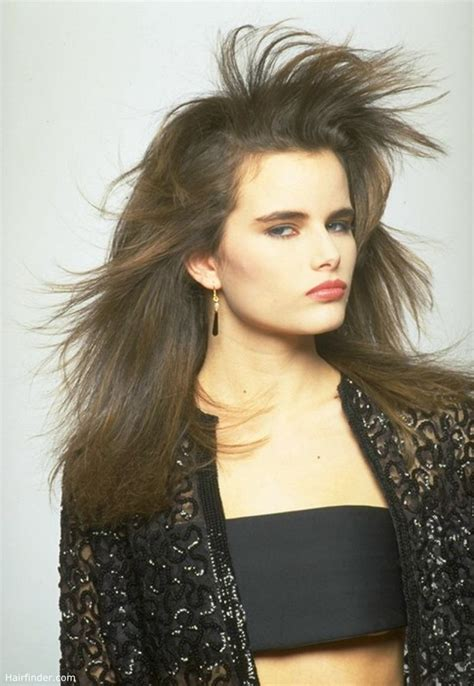 long hair  flows   wind windswept