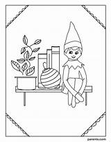 Coloring Elf Shelf Sheets Printable Elves Inspired Bedroom Io Excited Imagesvc Meredithcorp Parents Sheet Boy Inventive Ways Cardinvitations Cyou sketch template