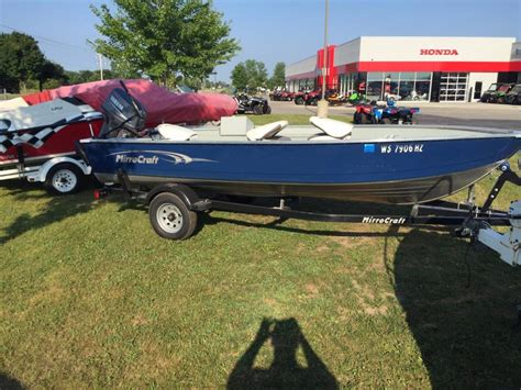 Used Boat Motors For Sale In Wisconsin by Mirro Craft 1616 Outfitter Boats For Sale In Wisconsin