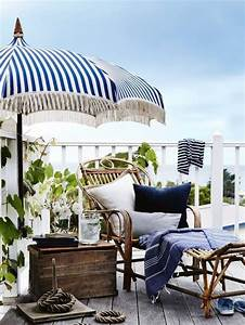 den balkon mediterran gestalten ideen fur ein maritimes With balkon ideen maritim