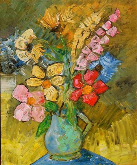fleurs pot vert