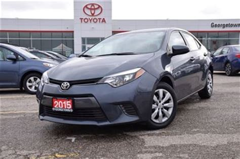 toyota insurance login 2015 toyota corolla le georgetown ontario used car for