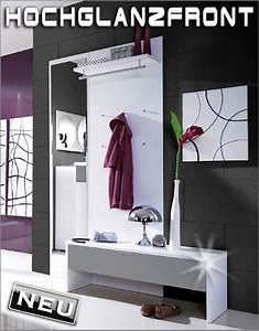 Moderne Garderobe Mit Bank : neu moderne garderobe paneel bank flurm bel hochglanz front grau weiss ebay ~ Bigdaddyawards.com Haus und Dekorationen
