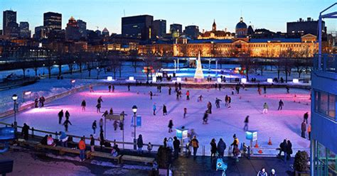montreal places    ice skating  winter