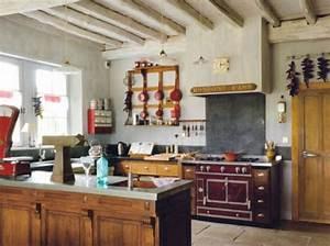 Deco Cuisine Bistrot : des cuisines esprit r cup 39 elle d coration cuisine cuisine bistrot id e d co cuisine et ~ Louise-bijoux.com Idées de Décoration