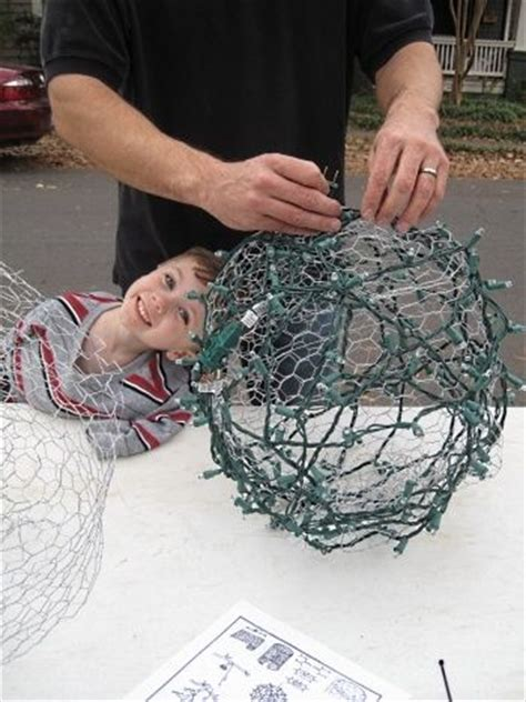 outdoor christmas light balls creative pinterest