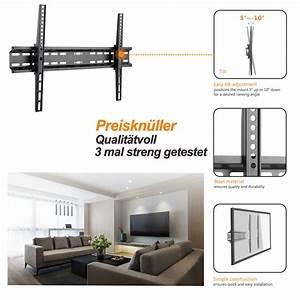 Samsung Wandhalterung 55 Zoll : 37 70 zoll tv wandhalterung neigbar f samsung panasonic lg sharp fernseher ~ Markanthonyermac.com Haus und Dekorationen
