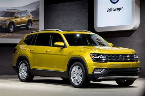 volkswagen suv 2018 vw atlas suv starts at 31 425 news cars com