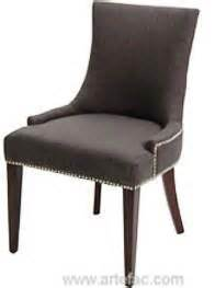 rv 7320 fabric dining chair with metal studs