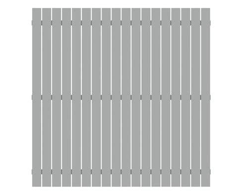 sichtschutzzaun aus aluminium xcm lichtgrau