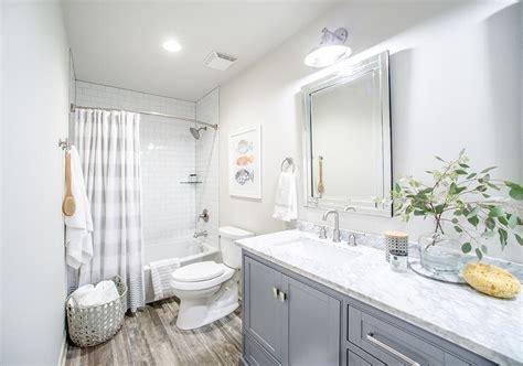 Transitional-bathroom-benjamin Moore Classic Gray