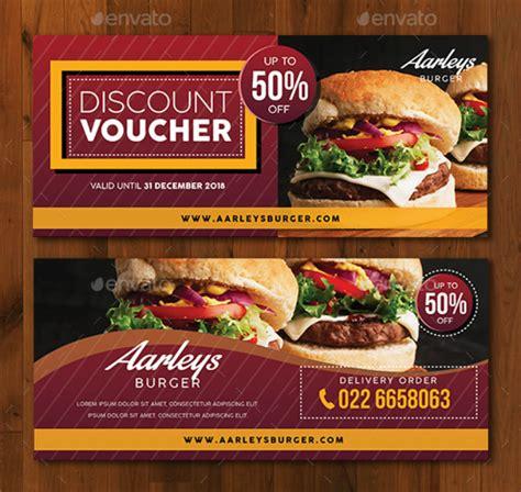 compelling restaurant discount card designs